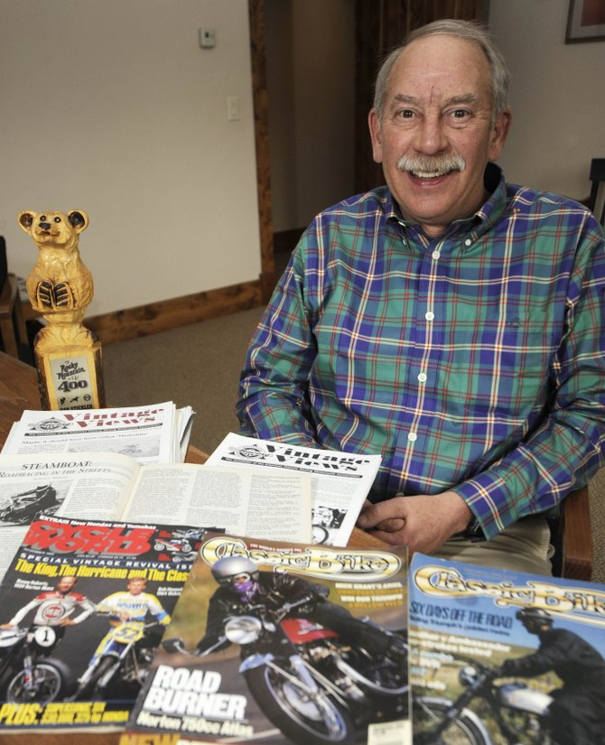 Local attorney Rob Stickler was named the Colorado national champion in the American Historic Motorcycle Racing Association's 2009 Vintage Trials Series in the Rigid Heavyweight Intermediate Class.