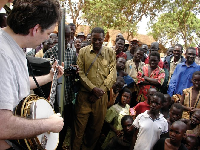 "In this scene from the documentary film ""Throw Down Your Heart,"" renowned banjo player Béla Fleck performs. The documentary follows Fleck through African countries on his journey to learn more about the origins of the banjo. A free screening of the movie is at 7 p.m. today in Library Hall at Bud Werner Memorial Library."
