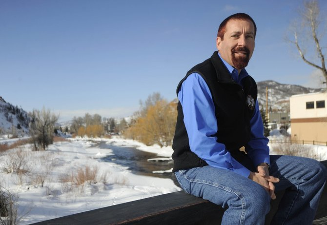 Steamboat Springs resident Darrel Levingston announced Thursday he will run against incumbent Rob Ryg to be Routt County's next coroner.