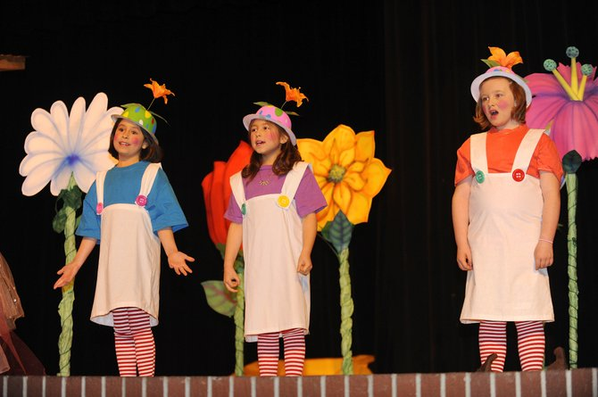 "Hayden students perform the ""Wizard of Oz"" on Thursday at the high school."
