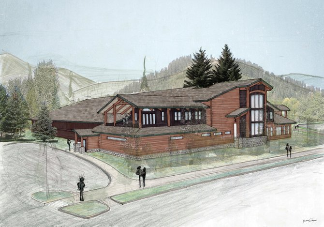 The planned addition of a new teen center on the east side of the Howelsen Ice Arena lobby would give young adults easy access to mountain biking, a skatepark, Alpine slide, the Yampa River and downtown shopping and dining.