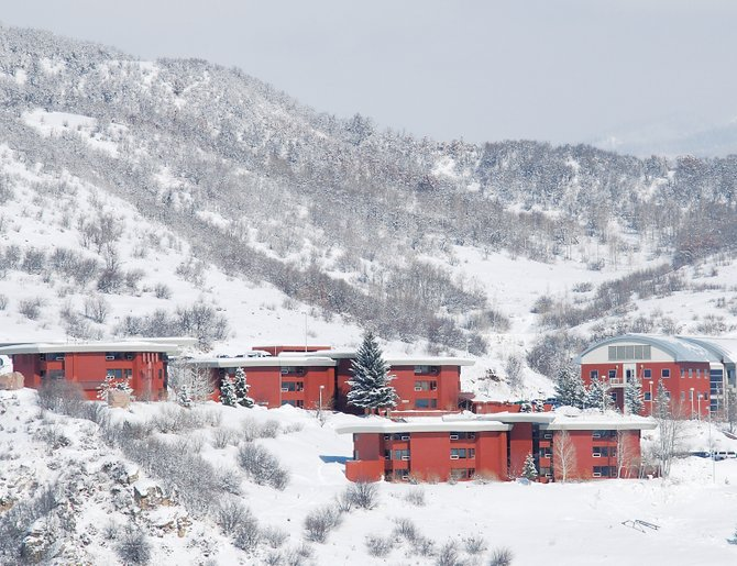 Colorado Mountain College's Alpine Campus will remain at its current location on Bob Adams Drive after college officials had investigated the possibility of relocating it to a different site in Steamboat Springs. The decision paves the way for a proposed geoexchange facility at the campus to move forward.