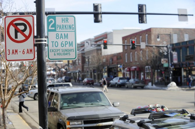 City Council considered Tuesday night a proposal to change streetside parking on Lincoln Avenue through downtown to three-hour zones, rather than two-hour zones, to allow more time for shopping, dining or even a movie. The proposal also would increase fines for violations to promote turnover in downtown parking spaces.