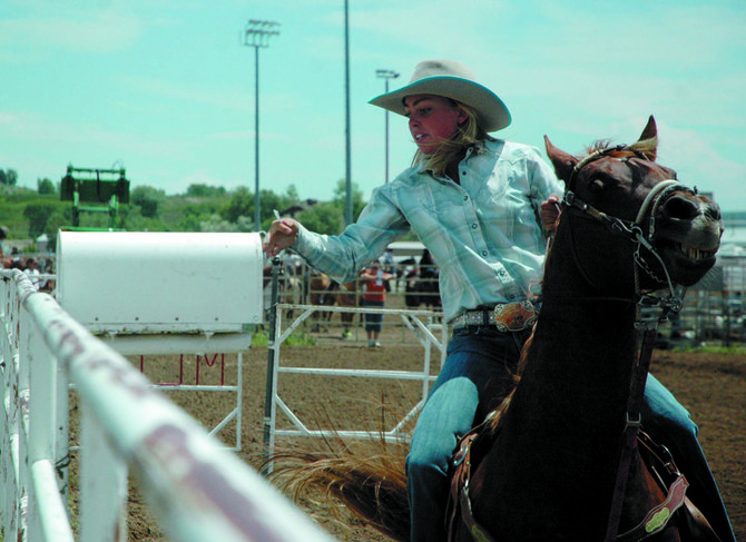 Taylor Vernon, a Moffat County High School senior, will be counted on to lead the rodeo team this spring. Moffat County will serve as the host site for the rodeo state finals in June, and the MCHS squad is hoping to qualify as many team members as it can for the event.
