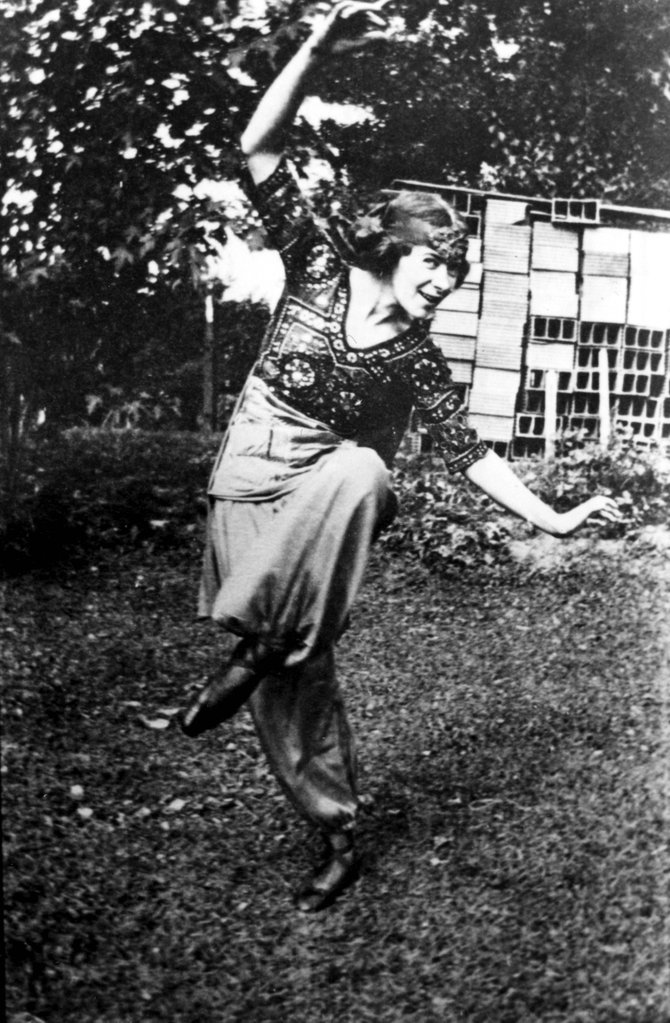 Portia Mansfield, seen here dancing in costume, was a co-founder, along with Charlotte Perry, of Perry-Mansfield Performing Arts School and Camp in 1913. Tread of Pioneers Museum and Bud Werner Memorial Library present a historical program about the camp and its founders at 4 p.m. and 5:30 p.m. Monday at the library.