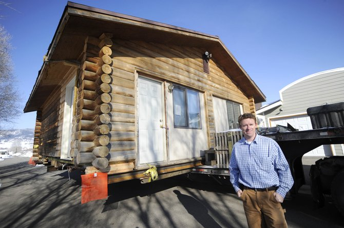 Carl Walker has been working since November to raise funds to move a building from Steamboat Springs about 33 miles south to Yampa, where it will be used at the En Gedi Retreat, a place for pastors and missionaries to stay for free and relax in South Routt County.