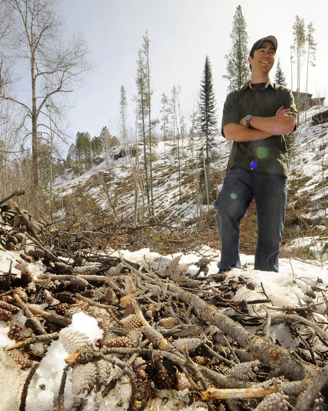 Tristan Frolich, who won a $20,000 award last summer to plant 20,000 trees in Routt County, has set a June 26 date for a communitywide event, which he hopes will attract as many as 400 volunteers.
