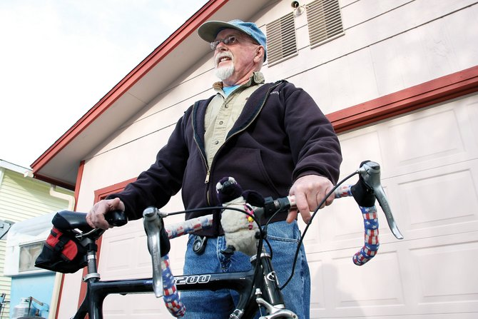 Terry Carwile will ride in his 13th Denver Post Ride the Rockies bicycle tour in the summer. This year's Ride the Rockies, which is in its 25th year, will be the longest ride at 532 miles.