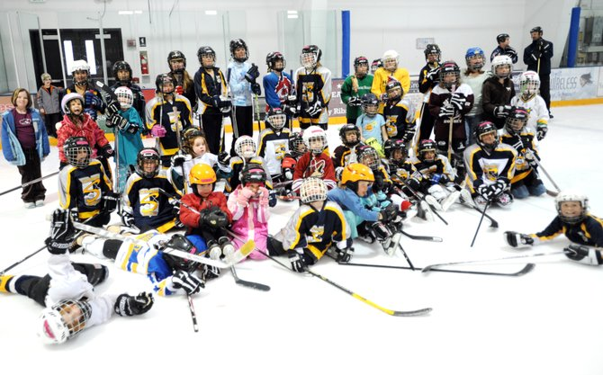 The Steamboat Springs Youth Hockey Association had 43 girls show up to a Sunday camp meant to introduce young girls to the sport. Organizers said they hope the event helps the program's girls teams stay active and grow.