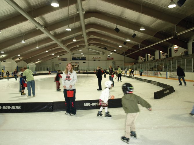 Local children and volunteers participate in a 2009 skate-a-thon benefiting the Yampa Valley Autism Program. The third annual event is from 1 to 4 p.m. Saturday at Howelsen Ice Arena.