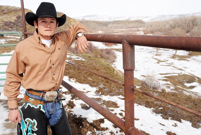 Hayden bull rider Jake Booco will travel to Idaho this week for the Dodge National Circuit Finals. It's his first time in the event, which he qualified for by winning the Mountain States Circuit Finals Rodeo in the fall.