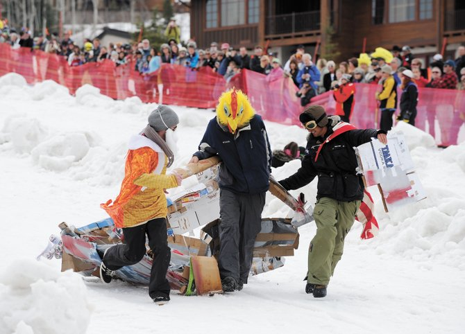 The 30th annual Cardboard Classic is at 11 a.m. Saturday at Steamboat Ski Area. There still were registration spots open as of Thursday afternoon.