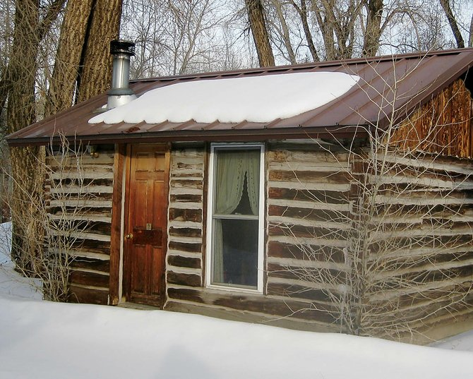 The Honeymoon Cabin is one of several structures known as the Van Camp Cabins in Yampa that are original 19th century stage stop buildings. They formally were named a Historic District by the Routt County Commissioners. Owner Susan Rygh continues to rent the cabins to travelers.