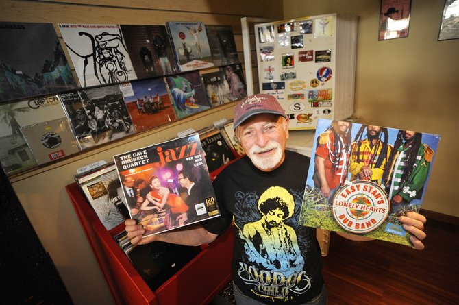 All That Jazz owner Joe Kboudi said he has expanded his inventory of new vinyl for today's celebration of Record Store Day. The business at the corner of Sixth Street and Lincoln Avenue will have live music starting at noon.