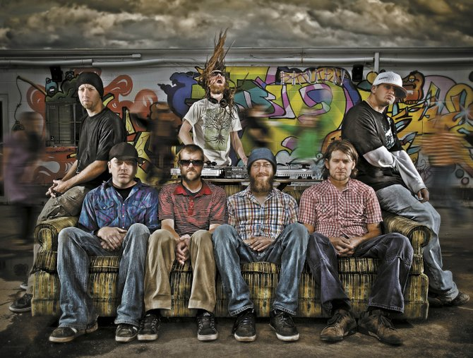 Fort Collins hip-hop group Peace Officer employs four emcees and one singer to play live hip-hop-fueled, reggae-influenced music with a message. The band plays today at Mahogany Ridge Brewery and Grill.