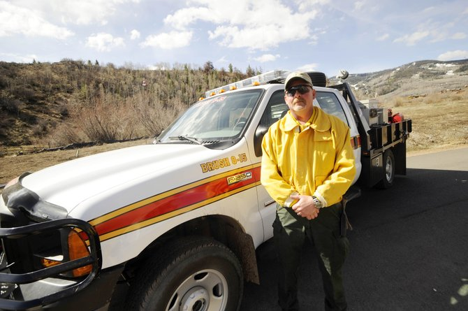 Greg Griswould started his new job last week as Oak Creek Fire Protection District's mitigation crew supervisor. The new position is being paid for with grant money.