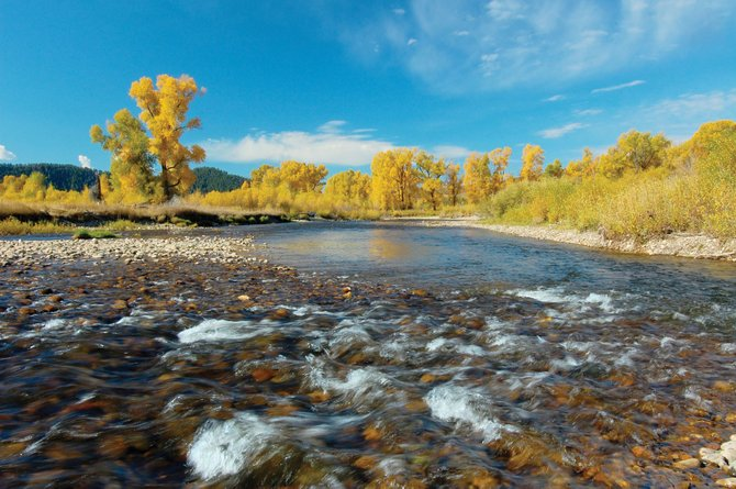 Tony and Karen Connell's ranch on the lower Elk River along Routt County Road 44 includes lush, irrigated hay meadows, and the river is also a rich trout fishery. It went on the market for $4.5 million last week.