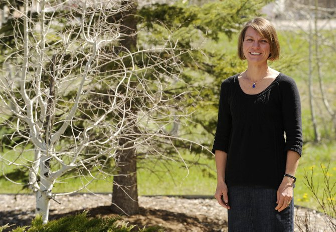 Anne Mudgett recently became the first paid staff member for the Yampa Valley Sustainability Council. The group is sponsoring the Every Day is Earth Day celebration.