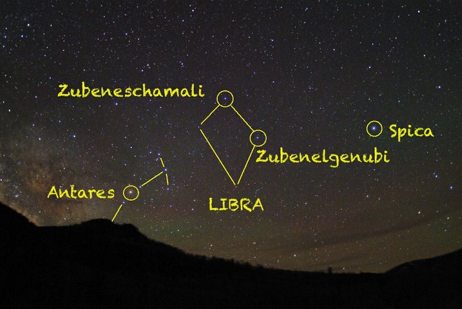 Look for the misfit constellation of Libra the Scales high in the southeastern sky at about 10 p.m. in mid-May. It sits about halfway between the two bright stars  Spica to the west, and Antares to the east. 