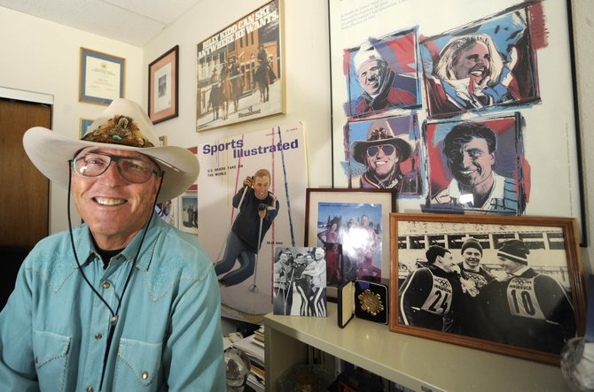 Billy Kidd sits in his office at Steamboat Ski Area in 2010. The International Skiing History Association presented Kidd a Lifetime Achievement Award last week in Vail.