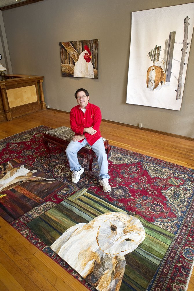 Steamboat Springs quilter David Taylor will be the featured artist at the Steamboat Art Museum's new exhibit, which opens today and runs through Oct. 17.