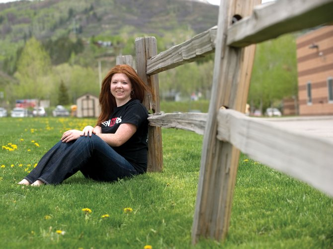 Graduating Steamboat Springs High School senior Kathleen Dobell is looking forward to receiving her diploma at today's ceremony at the high school. Dobell plans on attending Dartmouth in the fall.