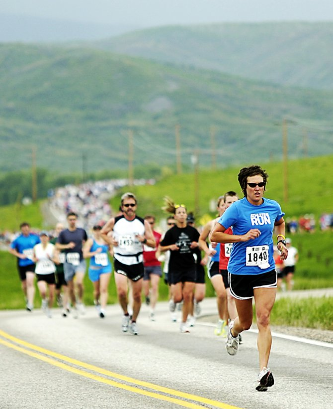 The Steamboat Marathon returns Sunday for it's 29th running. A full 26.2-mile marathon, a 13.1-mile half marathon and a 10-kilometer race start at 7:30 a.m. and finish in front of the courthouse in downtown Steamboat Springs.