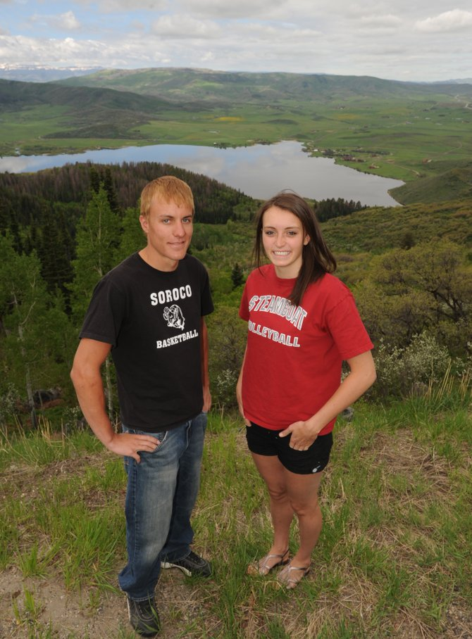 Soroco&#39;s Alex Estes and Steamboat&#39;s Colleen King named 2010 Routt County Athletes of the Year. 