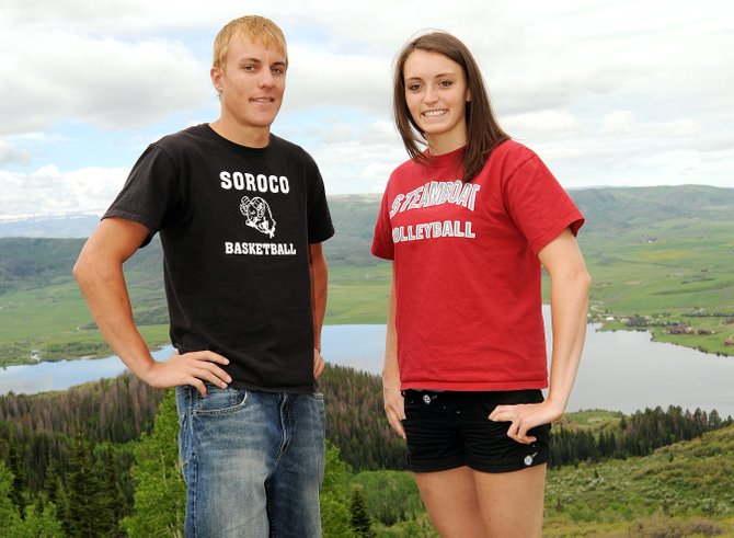 Soroco's Alex Estes and Steamboat's Colleen King named 2010 Routt County Athletes of the Year.
