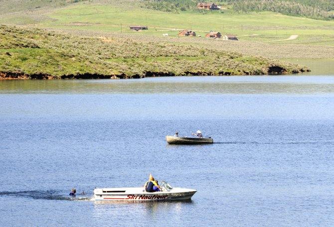 Stagecoach Reservoir is likely to see an increase in boaters this weekend as summer nears. As boater numbers increase, park rangers say they'll be keeping a closer eye on alcohol consumption on the water.