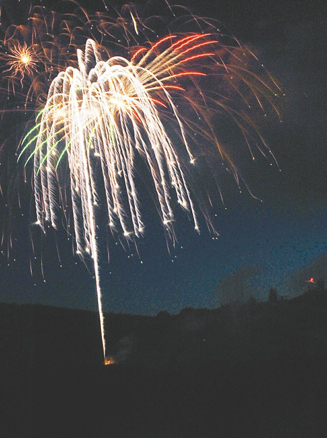 Steamboat Springs has won a $10,000 grant to help fund its July 4 festivities, which include a fireworks show.