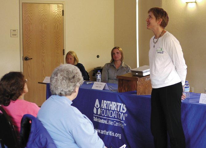 A new summer calendar provides older adults a quick glance at activities, such as this Arthritis Foundation event held in May, offered by local organizations in Steamboat and Craig.