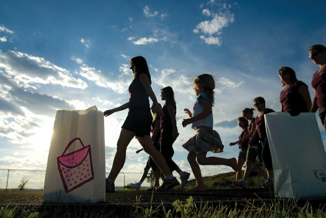 The 2010 Craig Relay for Life will take place July 16 to 17 at the Moffat County High School track. Participants have already raised about $12,000, and are working toward this year's $40,000 goal.