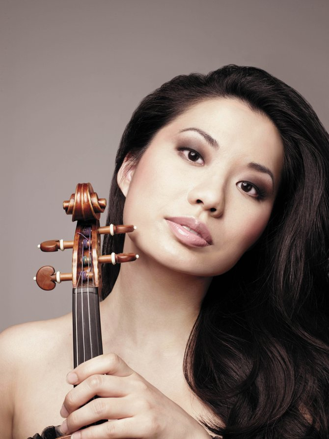 Sarah Chang will kick off the Strings Music Festival at 8 p.m. Saturday at the Strings Music Pavilion.