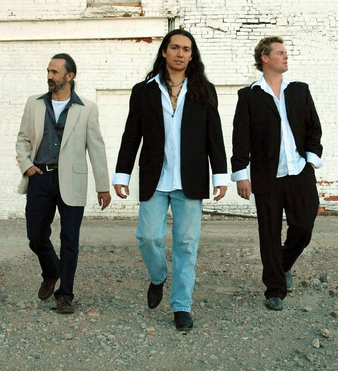 Tijerina plays blues-rock with jazz and funk influences at 9 p.m. today at Ghost Ranch Saloon.