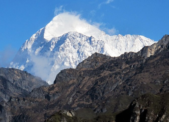 Makalu is the world's fifth-tallest mountain. The peak, situated between Nepal and China, was the site of Steamboat Springs doctor Eric Meyer's most recent trek.