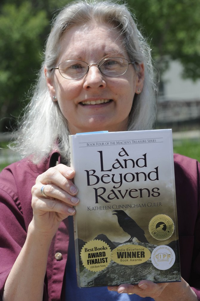 Kathleen Cunningham Guler was awarded the Colorado Book Award in the historical fiction category Friday.