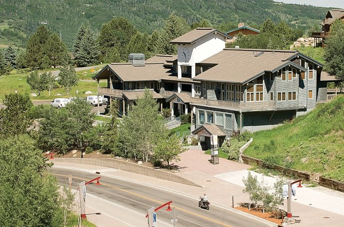 Denver firm Marcus and Millichap Real Estate Investment Services has included Clock Tower Square and the adjacent Xanadu condominiums, at the base of Steamboat Ski Area, among the lender-owned property and debt to be auctioned online in August.