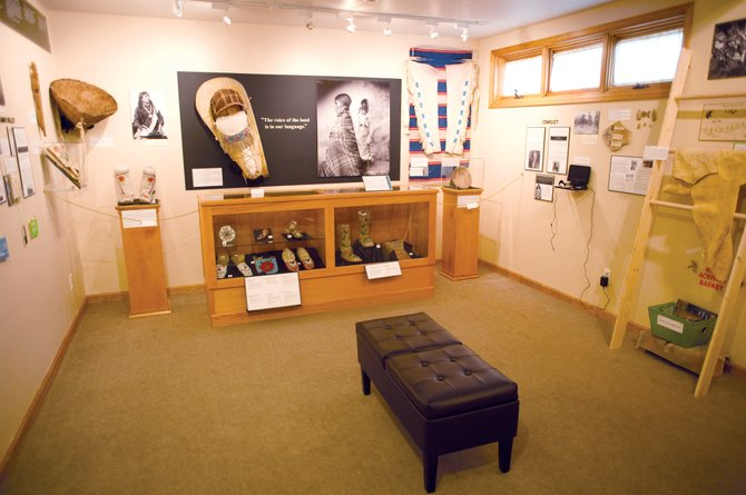 The new Ute tribe display opened June 23 at the Tread of Pioneers Museum.