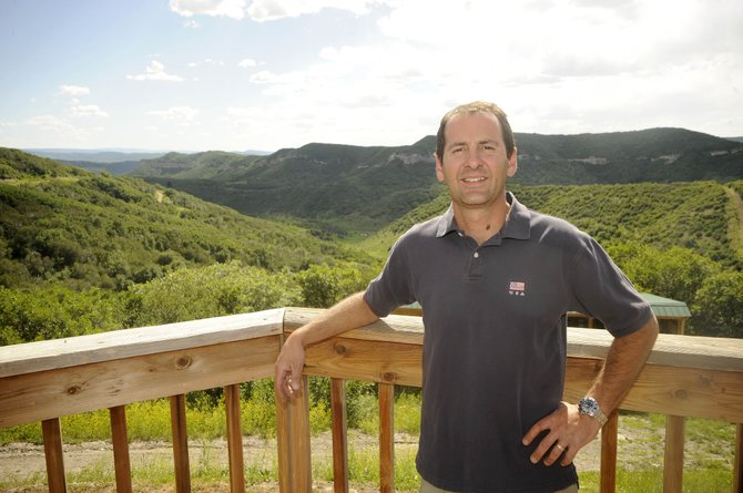 Pascal Ginesta recently was hired as the Steamboat Springs School District's director of maintenance operations and transportation.