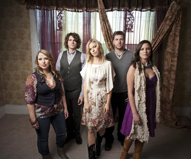Bearfoot, a bluegrass band from Alaska, performs Saturday at Strings Music Pavilion.
