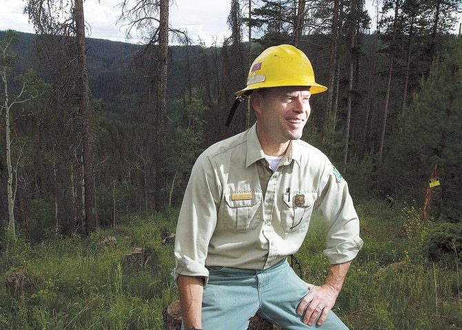 U.S. Forest Service employee Cal Wettstein is the incident commander of the pine beetle battle in Northern Colorado and Southeast Wyoming.