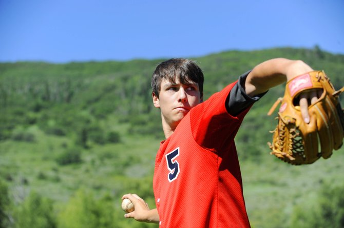 Rising Steamboat Springs High School senior Alan Capistron has been playing summer baseball with the Colorado Bandits, a select Connie Mack team. In addition to the 70 games he plays with the Bandits, he also is playing with the Steamboat Springs American Legion team.