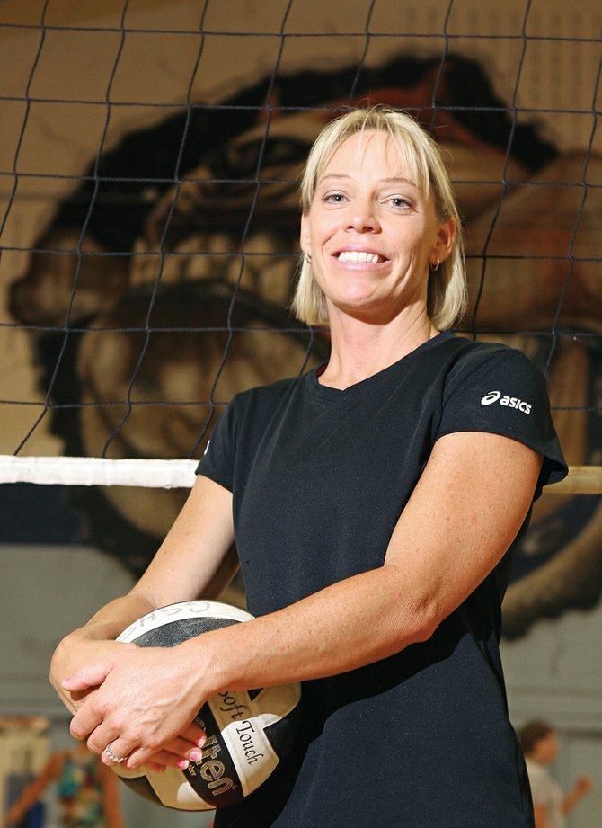 Sandy Camilletti was recently named head coach of the Moffat County High School volleyball team. Camilletti, who played volleyball for MCHS, will be joined on the bench by new assistant coach Becky Howlett-Jackson.