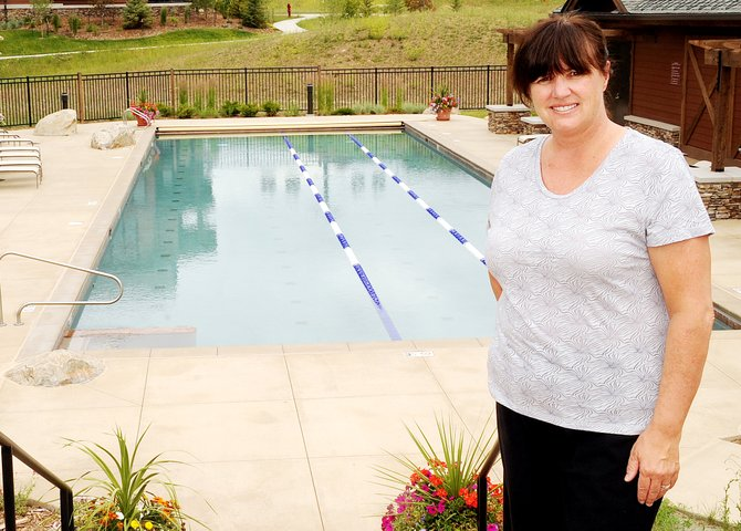Patti Worsley will teach a swimming class at the pool at Wildhorse Meadows Trailhead Lodge at 8:30 a.m. Saturday aimed at helping area triathletes gear up for next month's race.