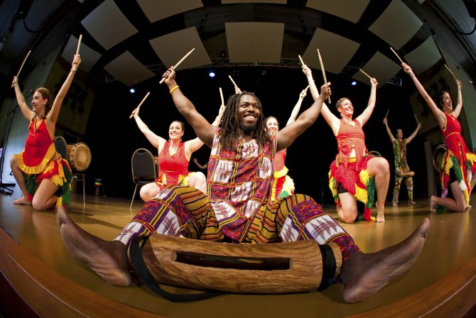 The performances at Strings this week offer a kaleidoscope of regions and influences — from dance and drumming traditions of West Africa to European classical masterworks and uniquely American sounds of jazz.