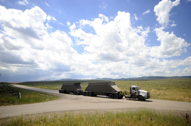 Peabody Energy will be opening the new Sage Creek Coal Mine as soon as summer 2011 in west Routt County. A roundabout is proposed for the intersection of Routt County Roads 27 and 27A to accommodate coal trucks.