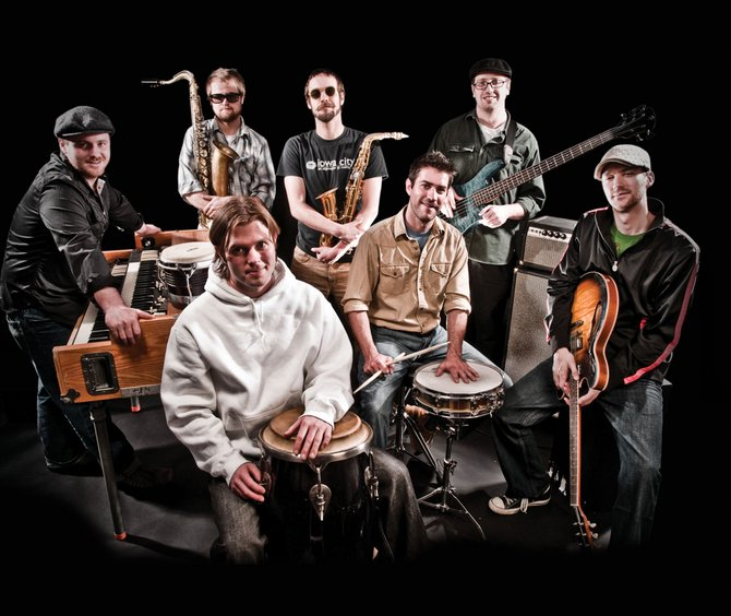 Fort Collins-based Euforquestra plays at 9 p.m. today at Ghost Ranch Saloon. The band's influences range from Brazilian samba to the Talking Heads. Tickets are $5.