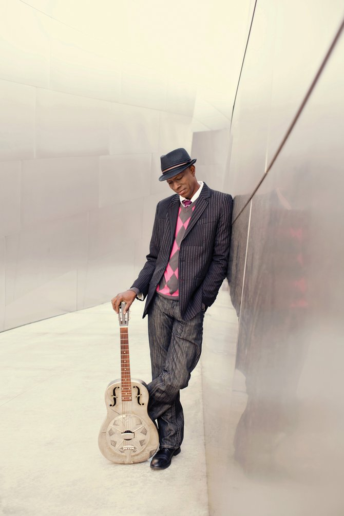 Three-time Grammy Award-winner Keb' Mo' will perform at the Strings Music Pavilion on Friday.