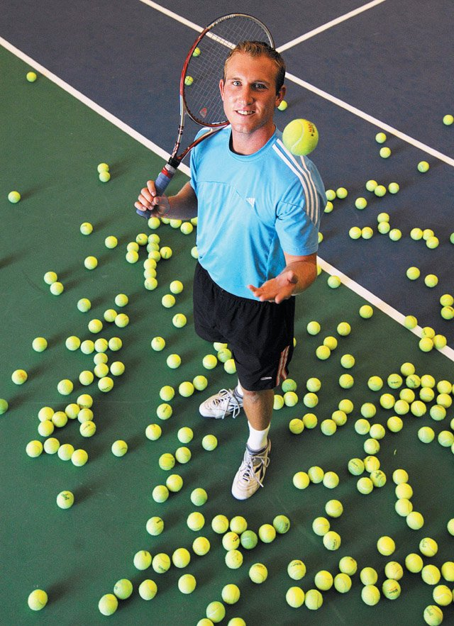 Tennis professional Andy Caress worked at the Tennis Center at Steamboat Springs. Caress, 24, died Wednesday in Cincinnati.